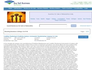 maharashtra.buysellbusinesses.com screenshot