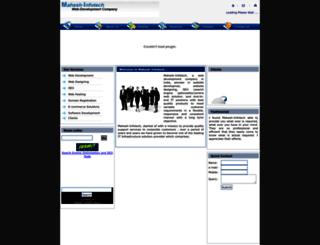 mahesh-infotech.com screenshot