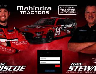 mahindradealerportal.com screenshot