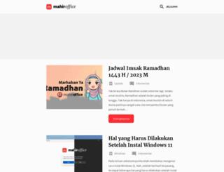 mahiroffice.com screenshot