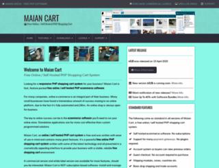 maiancart.com screenshot