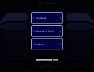maidcafeny.com screenshot