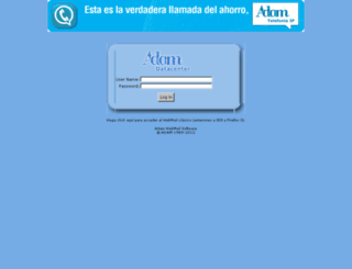 mail.adam.es screenshot