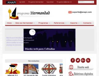 mail.anapi.com screenshot