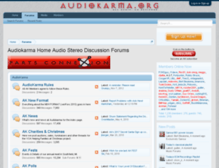mail.audiokarma.org screenshot