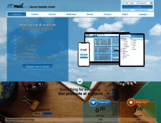 mail.co.uk screenshot