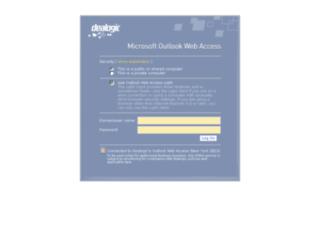 mail.dealogic.com screenshot