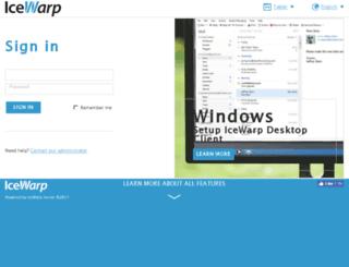 mail.ezsolution.com screenshot