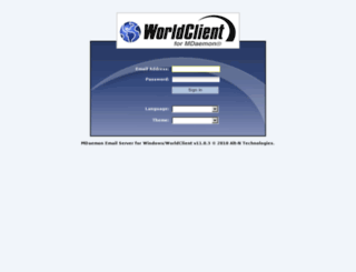 mail.ganjnews.ir screenshot