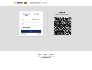mail.goldenfinance.com.cn screenshot