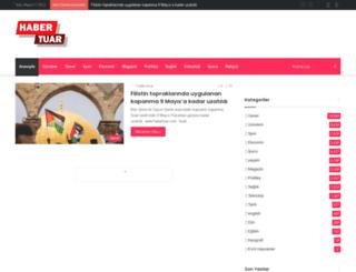mail.habertuar.com screenshot