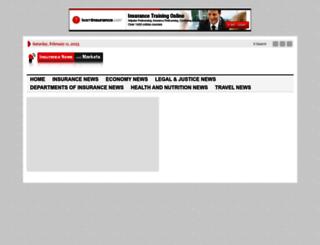 mail.insurancenewsandmarkets.com screenshot