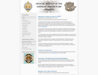 mail.irish-freemasonry.org.uk screenshot