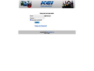 mail.kei-ind.com screenshot