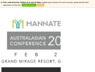 mail.mannatech.com.au screenshot