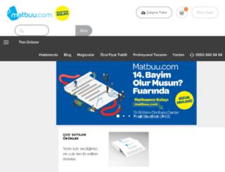 mail.matbuu.com screenshot