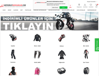 mail.motosikletaksesuarlari.com screenshot