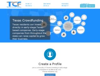 mail.texascrowdfunding.com screenshot