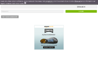 mail.tiscali.mobi screenshot