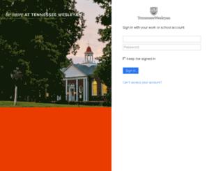 mail.twcnet.edu screenshot
