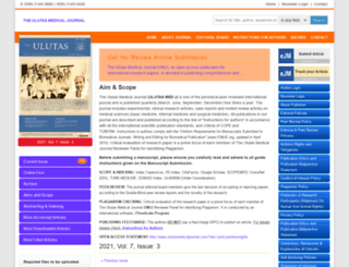 mail.ulutasmedicaljournal.com screenshot