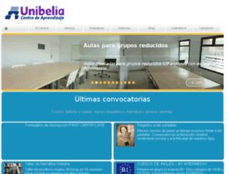 mail.unibelia.es screenshot