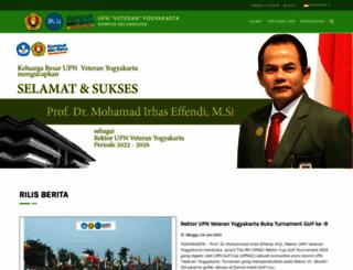 mail.upnyk.ac.id screenshot