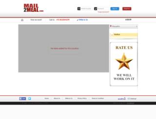 mail2meal.com screenshot