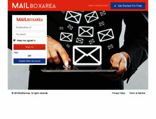 mailboxarea.com screenshot