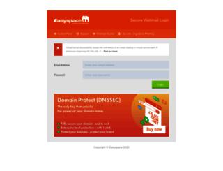 mailcontrol.easyspace.com screenshot
