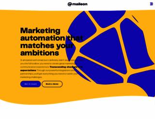 maileon.com screenshot