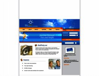 mailfinity.net screenshot