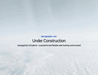mailgoogle.net screenshot