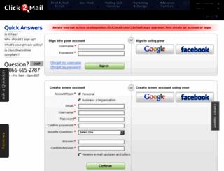 mailingonline.click2mail.com screenshot