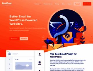 mailpoet.com screenshot