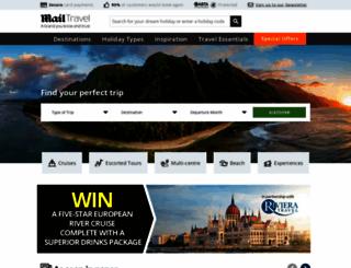 mailtravel.co.uk screenshot