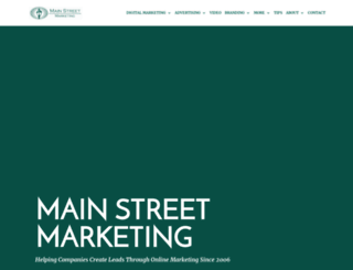 main-street-marketing.com screenshot
