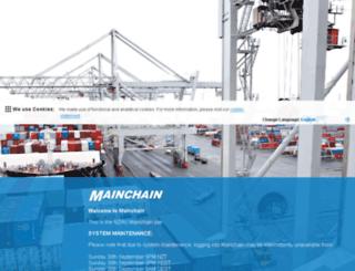 mainchain.net screenshot