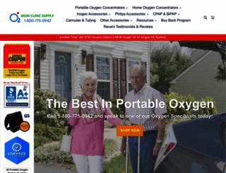 mainclinicsupply.com screenshot