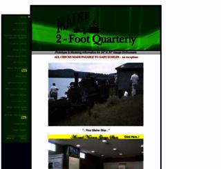 maine2footquarterly.com screenshot