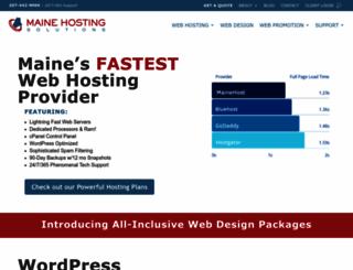 mainehost.com screenshot