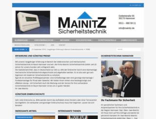 mainitz.de screenshot