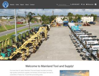 mainlandtool.com screenshot