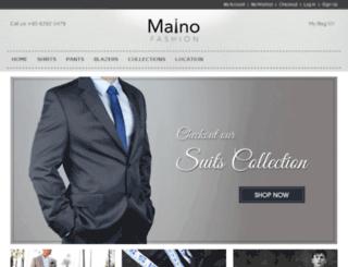 mainofashion.com.sg screenshot