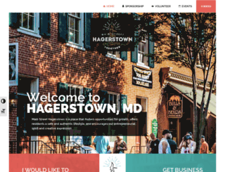 mainstreethagerstown.com screenshot