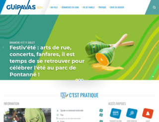 mairie-guipavas.fr screenshot