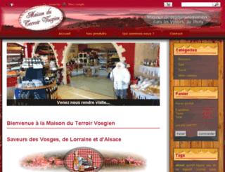maison-du-terroir-vosgien.fr screenshot