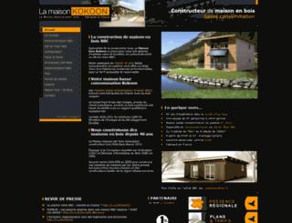 maison-kokoon.fr screenshot