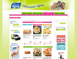 maison-ricot.com screenshot