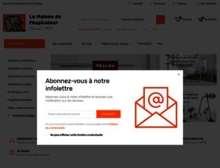 maisonaspirateur.com screenshot